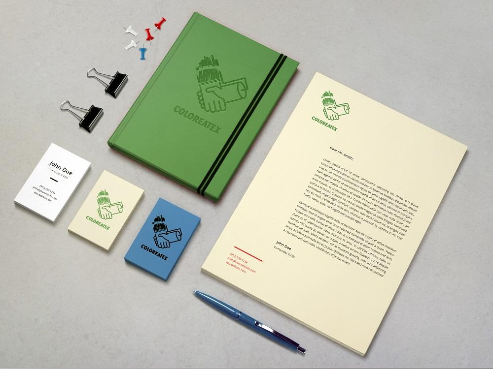 Identidad Gráfica: COLOREATEX