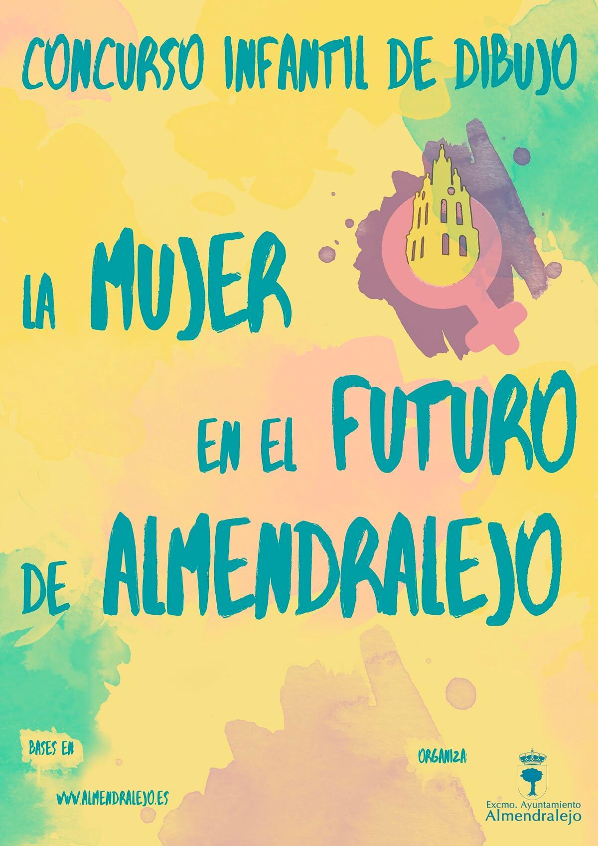 Cartel la Mujer en el futuro de Almendralejo