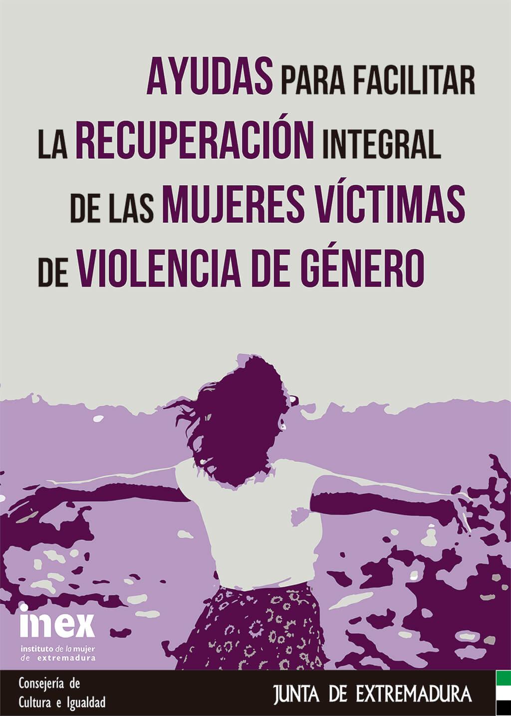 Cartel: Ayudas para Facilitar la Recuperación Integral de las Mujeres Víctimas de Violencia Género