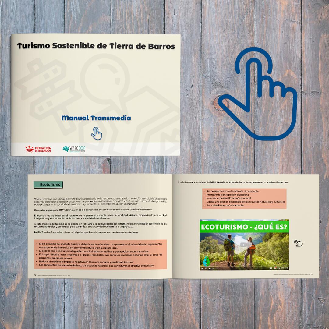 Manual transmedia para el turismo sostenible de Tierra de Barros